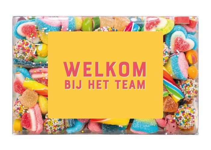 Snoepdoosje | Welkom bij het team!