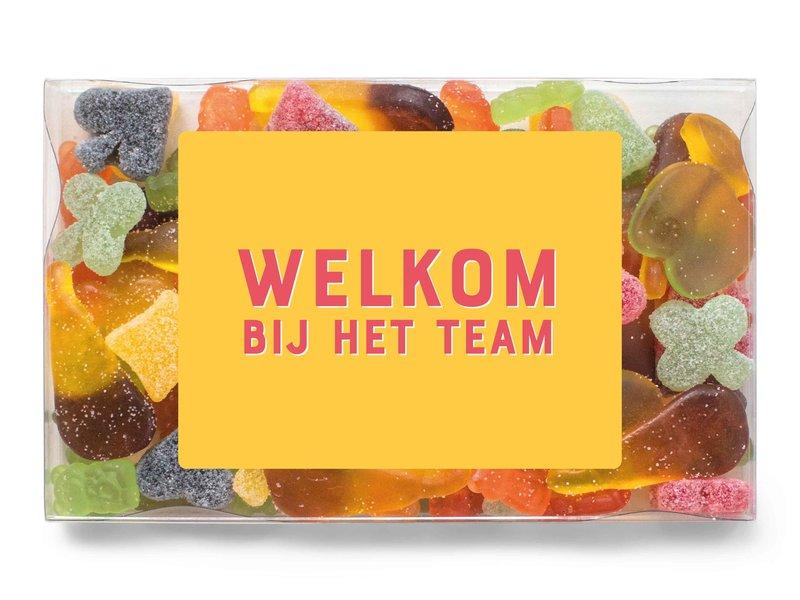Snoepdoosje   Welkom bij het team!