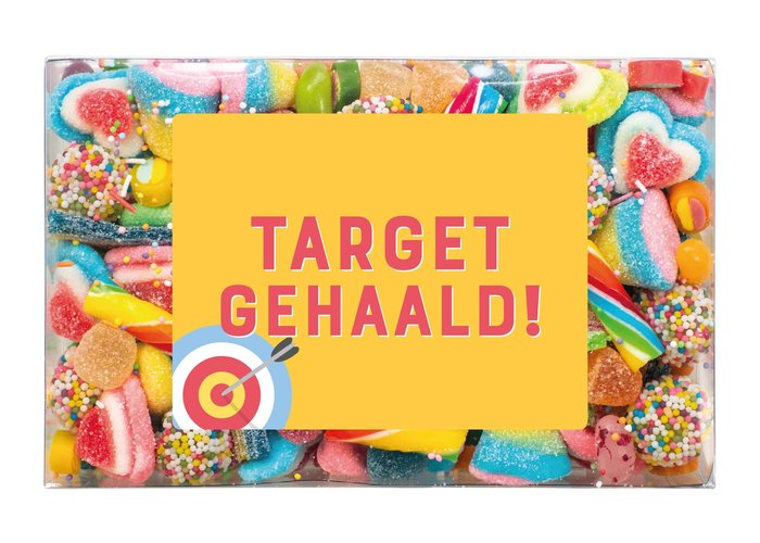 Snoepdoosje | Target gehaald!
