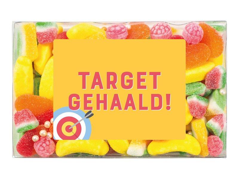 Snoepdoosje   Target gehaald!