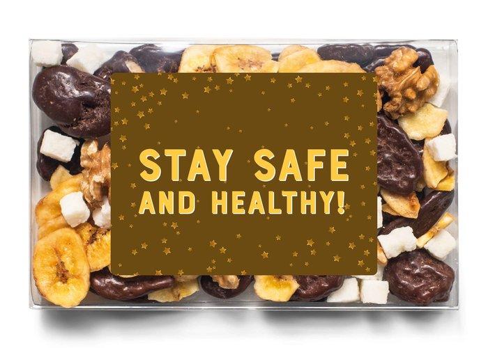 Doosje chocolade | Stay healthy!