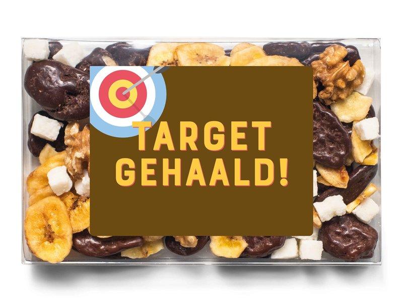 Doosje chocolade | Target gehaald!
