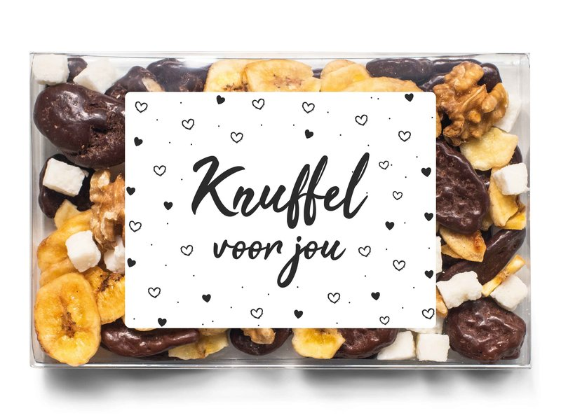 Doosje chocolade   Knuffel voor jou