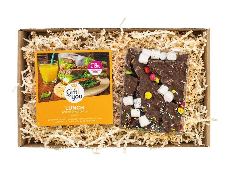 Wellness cadeaukaart & brownie