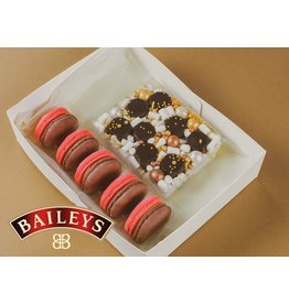 Cadeaupakket | Baileys macarons & bonbons