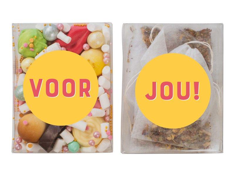 Duo setje | Bonbons & thee ✏️