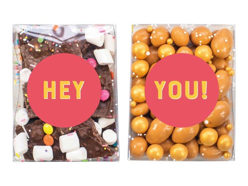 Duo setje | Breekchocolade & karamel amandelen ✏️