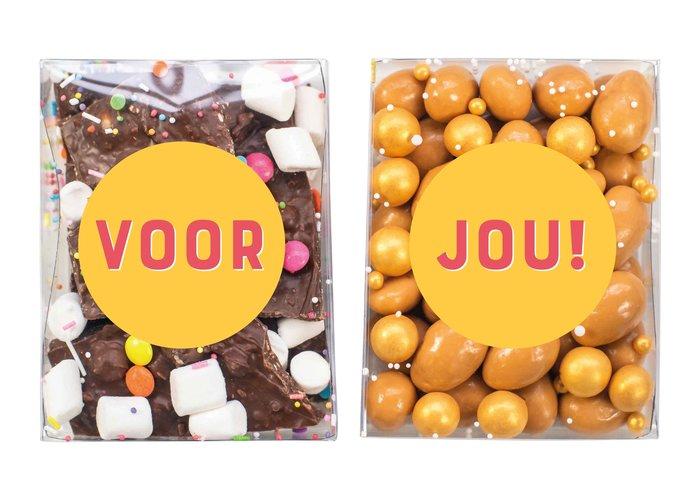 Duo setje   Breekchocolade & karamel amandelen ✏️