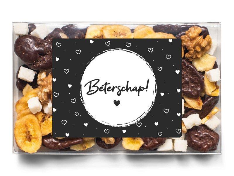 Doosje chocolade   Beterschap!
