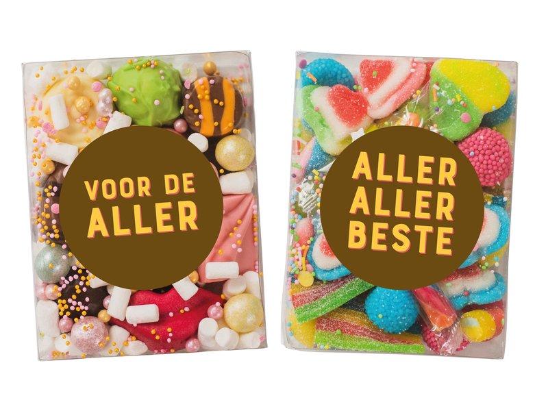 Duo setje   Bonbons & Rainbow mix