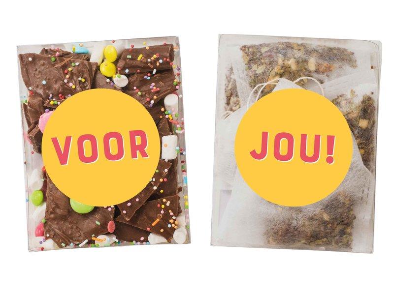 Duo setje   Breekchocolade & thee