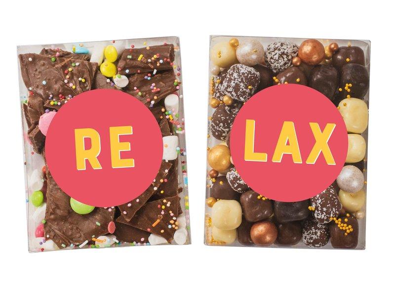 Duo setje | Breekchocolade en Chocolade kokos bolletjes