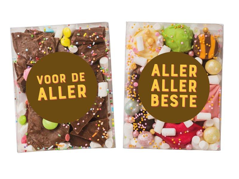 Duo setje | Breekchocolade en Bonbons
