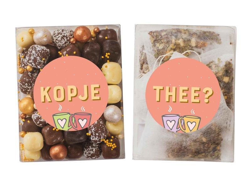 Duo setje | Chocolade kokos bolletjes & thee