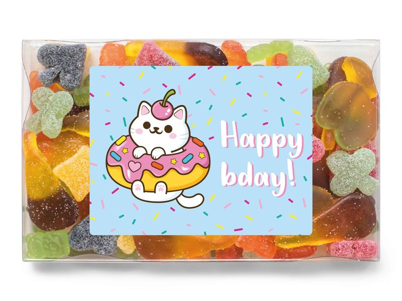 Snoepdoosje | Happy bday!
