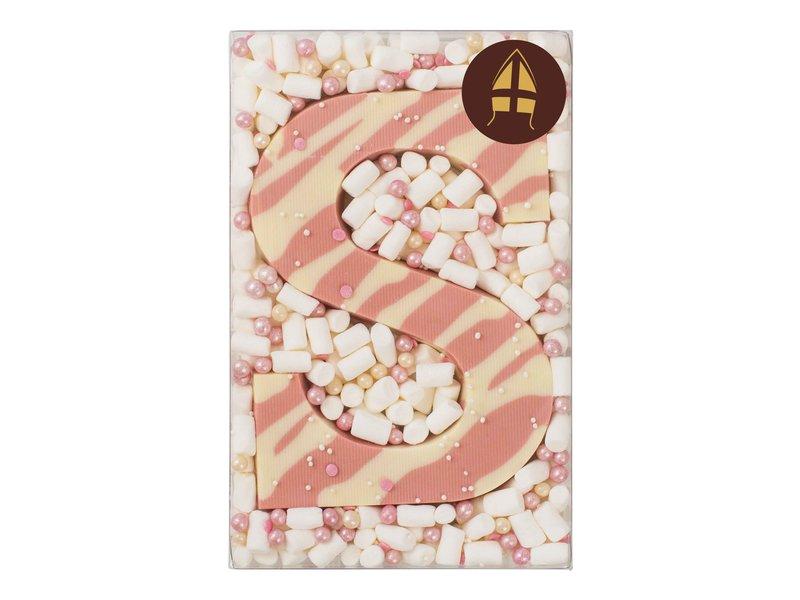 Chocoladeletter karamel