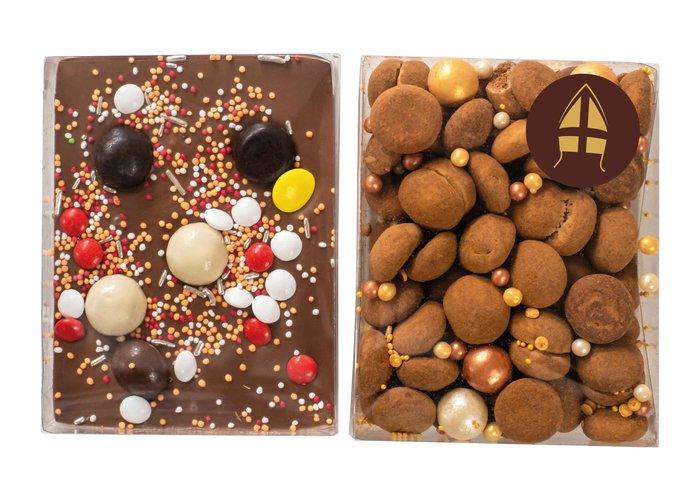 Duo setje: Choco bar en truffel pepernoten