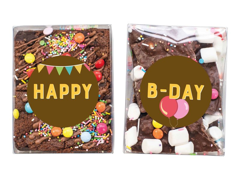 Duo setje: Brownies & Breekchocolade