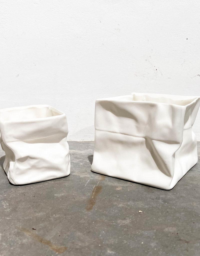 serax srx ceramic 'paperbag'