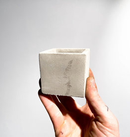 concrete pot cube S
