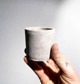 concrete pot round S