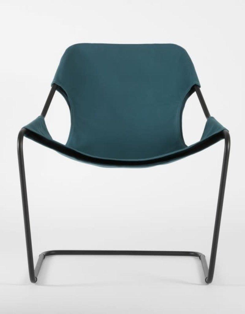 objekto Paulistano outdoor armchair /black-turquoise