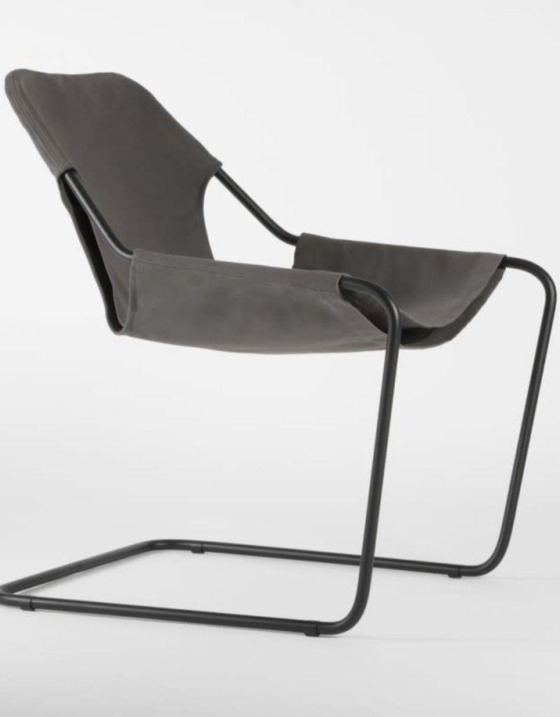 objekto Paulistano armchair outdoor /black-taupegrey