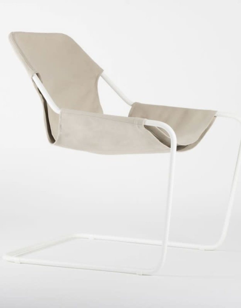 objekto Paulistano armchair outdoor /white-beige