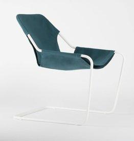 objekto Paulistano armchair outdoor /white-turquoise