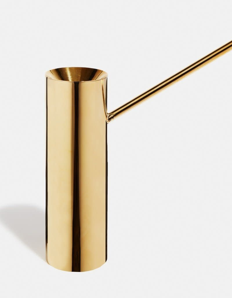 LEE WEST  brass watering can