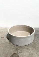 concrete pot cilinder bowl