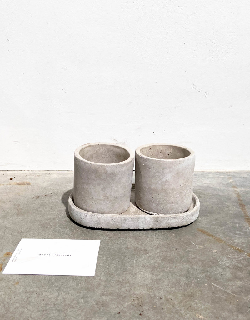 concrete mini pot cilinder
