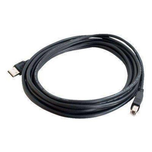 C2G USB 2.0 A naar B Kabel 2m Zwart