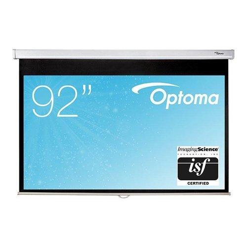 Optoma Optoma DS-9092PWC Projectiescherm 16:9 wit