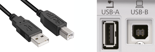 USB aansluiting