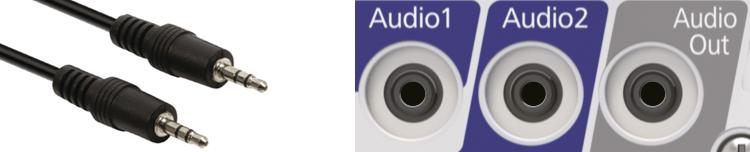 Audio in en uit