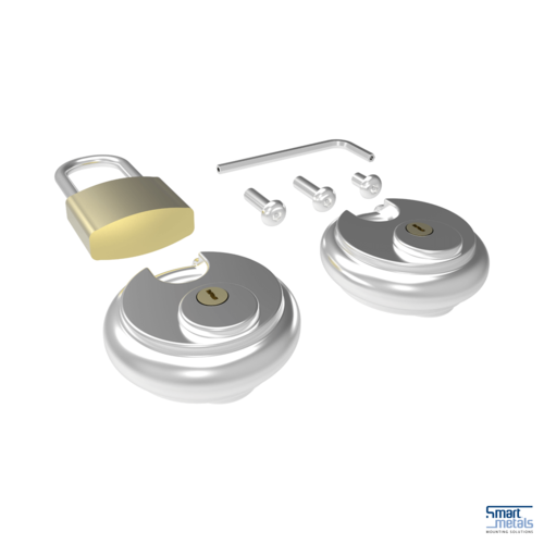 Projectorkooi slotenset smartmetals