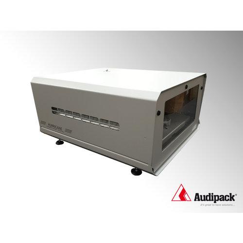 Audipack pollutio projector behuizing tegen stof en vocht