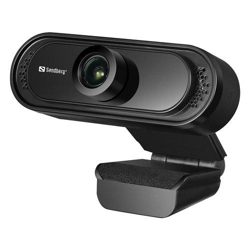 sandberg Sandberg USB Webcam 1080P voor Zoom en Teams