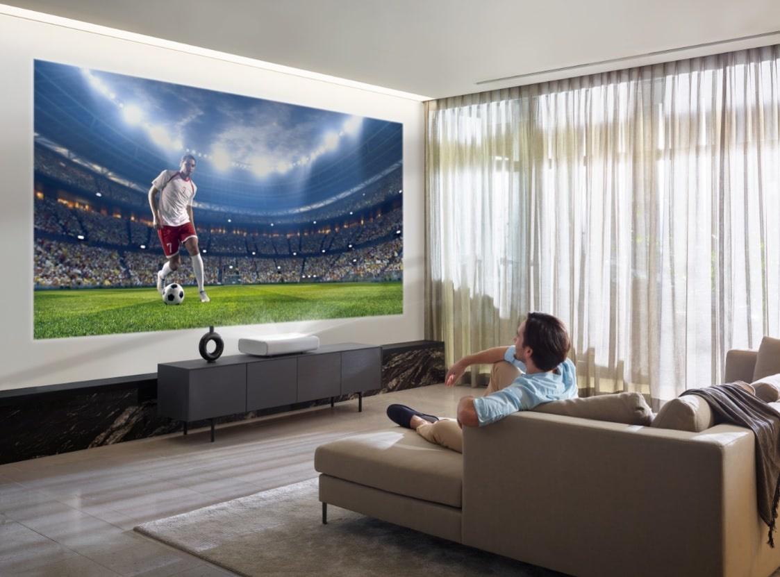 samsung the premiere tv en voetbal kijken
