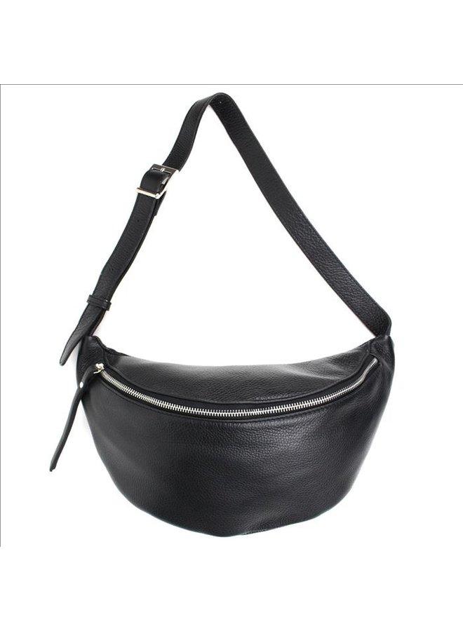 Big zipper bag - Black
