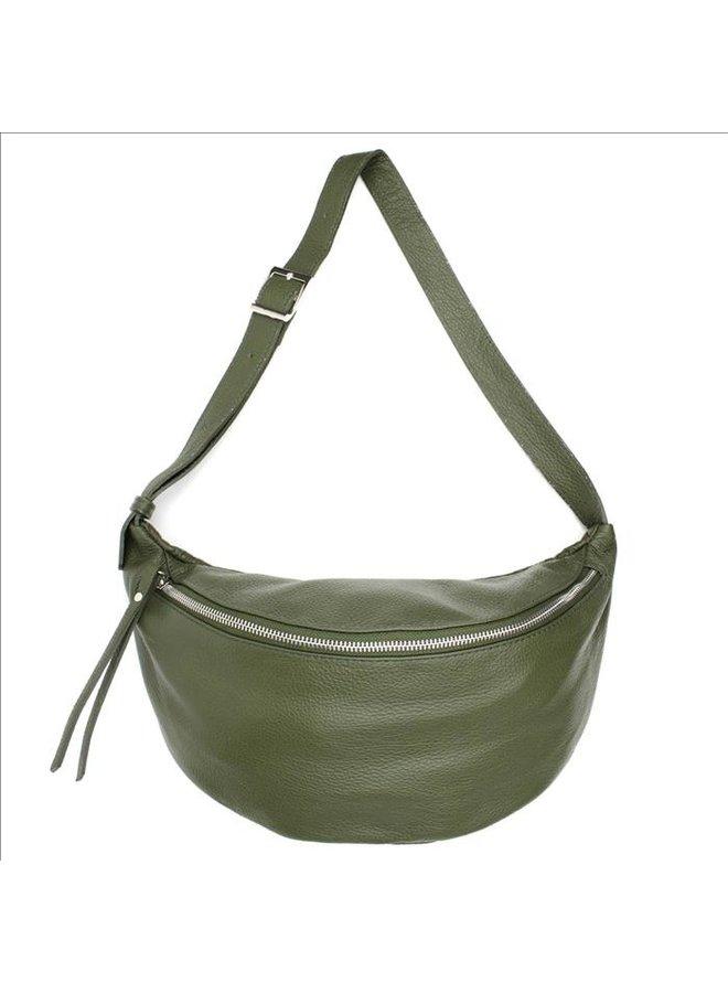 Big zipper bag - Kaki