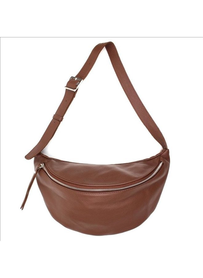 Big zipper bag - Choco