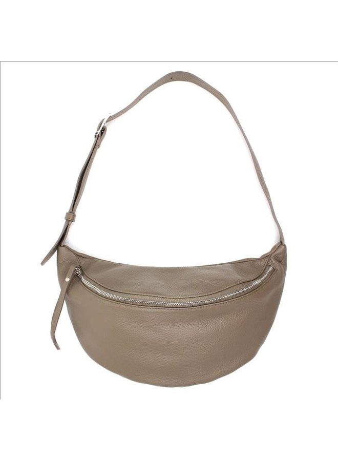 Big zipper bag - Taupe