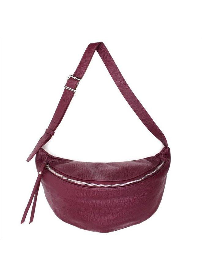 Big zipper bag - Bordeaux