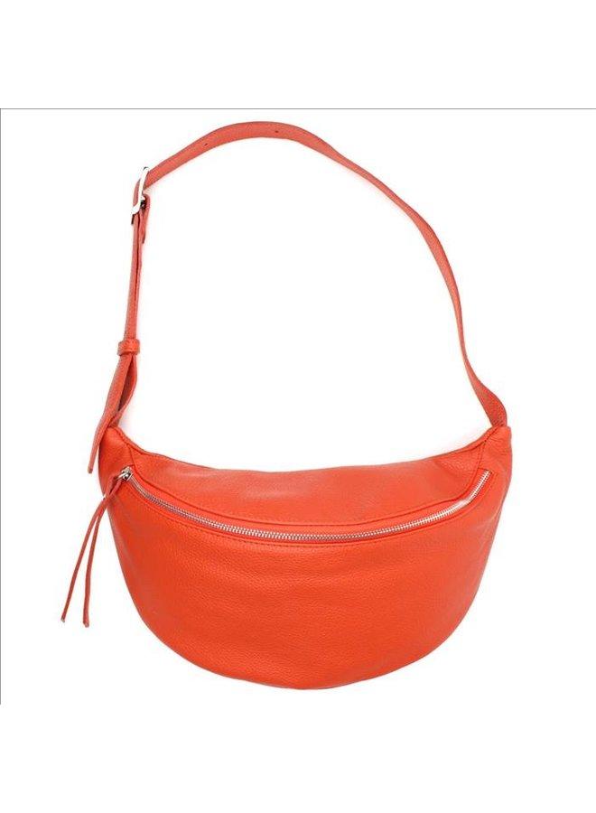 Big zipper bag - Deep orange