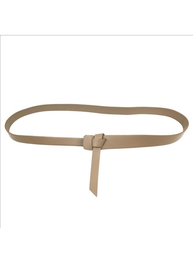 Twist belt - Beige