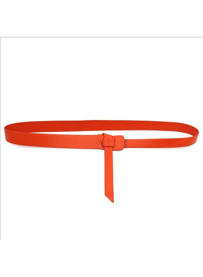 Twist belt - Orange