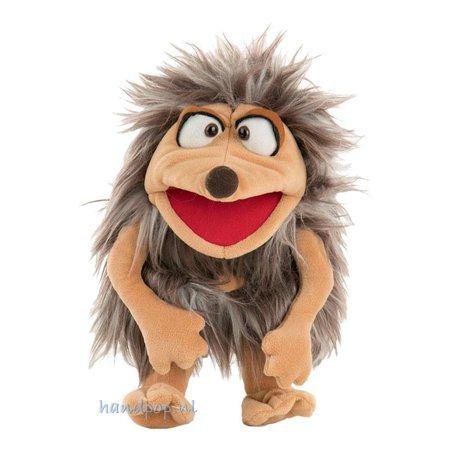 Living Puppets Meneer Waldmeister is een egel handpop