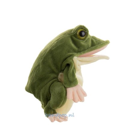 The Puppet Company handpop kikker